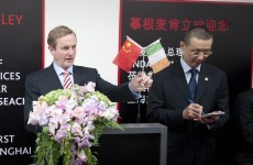 "Enda tells Chinese investors that Ireland ""is growing again"""