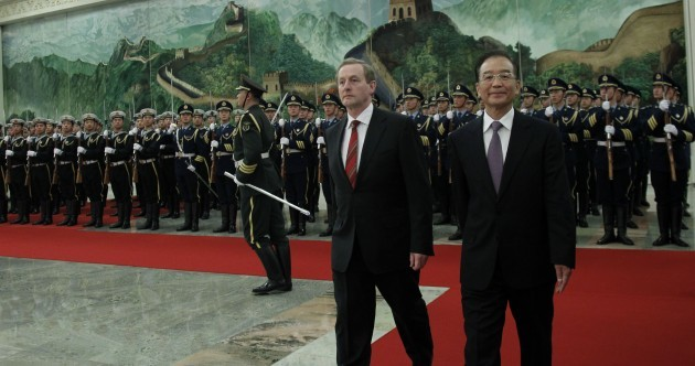 Enda tells China all the good reasons to visit Ireland – but what were they?