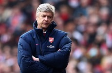 Wenger writes off Milan's Champions League prospects