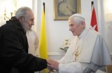 Pope meets Fidel Castro in Cuba