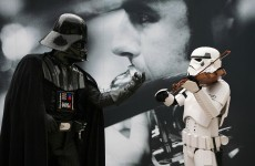 Darth Vader's soothing (?) voice makes kids happier