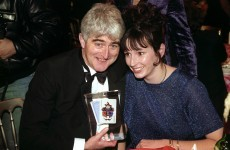 WATCH: Dermot Morgan jokes about Bertie Ahern… in 1994