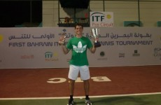 Ireland's James McGee claims singles and doubles titles in Bahrain