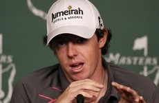 Masters meltdown behind him, McIlroy moves on