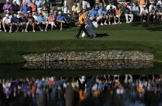 Hanson gets to 9 under for lead at Masters
