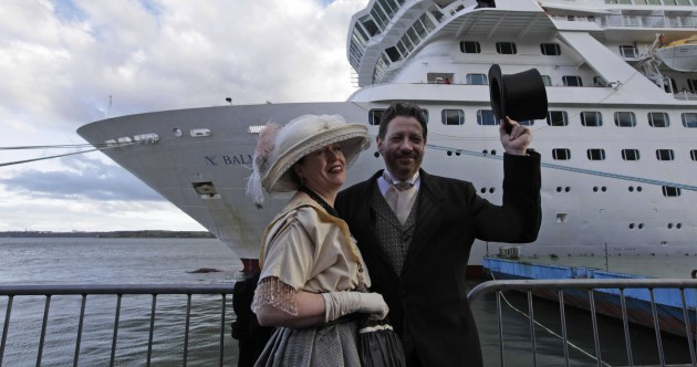 In pictures: Passengers from 'Titanic' cruise stop off in Ireland