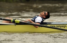 Right and proper: Oxford rower apologises for unconsciousness