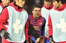 Bad news for Ireland as David Villa steps up rehabilitation in Euro 2012 bid