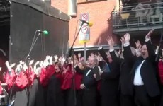 Hallelujah – Handel's Messiah takes to the street today