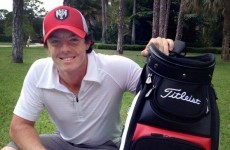 Back on top: Rory returns to No 1 without getting off the couch