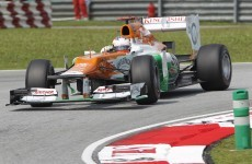 Force India caught in Bahrain firebomb attack