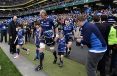 Mascot call for Leinster semi-final: Get on the phone to your niece or nephew!