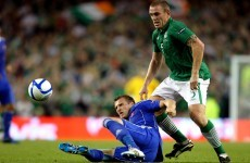 Space on the plane: Trap's Euro 2012 defensive options
