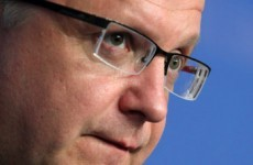 EU economics chief arrives for two-day budget talks