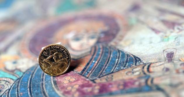 Mini gold coin launched to celebrate Irish monastic art