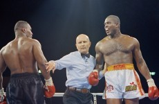 Boxer 'Razor' Ruddock eyes comeback at 48, says it is not for money