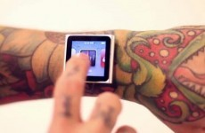Video: Watch (if you can) a man embed magnets into skin to hold iPod