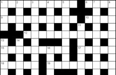 Did a crossword maker try to encourage people to kill the president's brother? Probably not
