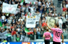 Grazie, Alessandro: Del Piero's emotional farewell to Juventus