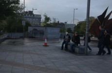 Unoccupied: Gardaí remove protesters from Eyre Square