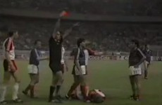 17 days to Euro 2012: Manuel Amoros' moment of madness