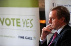 Kenny appeals to public to assist recovery with Yes vote