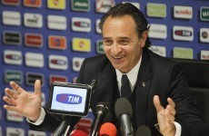 Prandelli leaves out Ranocchia and Destro, keeps Chiellini and Bonucci