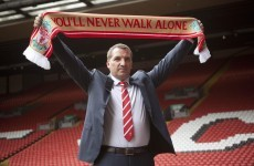 New Liverpool boss Rodgers sets sights on title