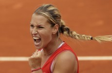 Cibulkova dumps Azarenka from French Open