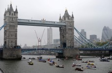 In pictures: Thousands gather as Thames flotilla marks Queen's 60 years
