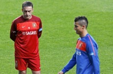 No way! Ronaldo debuts new haircut