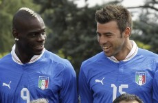 More worries for Azzurri: Barzagli doubtful and Balotelli injured in training