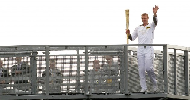 In pictures: the Olympic Flame's historic visit to Ireland