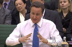 Cameron refuses to rule out helping Irish bailout