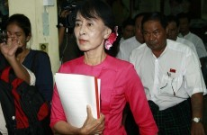 Health worries for Aung San Suu Kyi ahead of Dublin visit