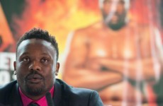 Dereck Chisora and his trainer become embroiled in fight at training