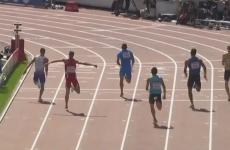 VIDEO: 100m runner breaks leg in Helsinki heat