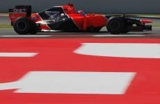 De Villota 'conscious' after F1 crash