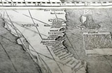 500-year-old world map discovered between geometry books at German library