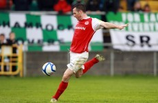Last minute goal secures a point for Saints as Shamrock Rovers lose more ground