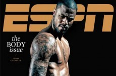 ESPN has revealed its first 2012 Body Issue cover