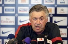 Ancelotti: Pirlo, Van Persie not on PSG radar