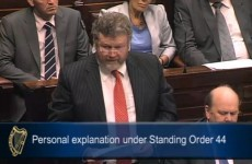 James Reilly tells Dail: I have acted with complete propriety at all times