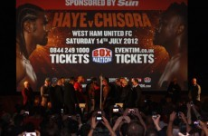 Preview: Hate and hype fuel Haye-Chisora clash