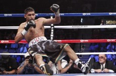 Uncertain future ahead for Khan after fourth round stoppage