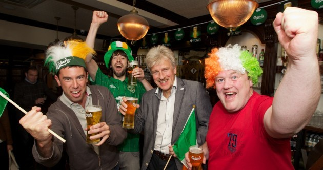 Here's your 'Mayor of Poznan having a pint in Dublin' pic of the day