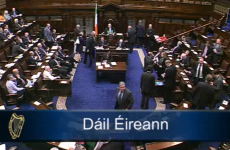 VIDEO: Rowdy scenes – but no disagreement – as Dáil votes for eight-week break