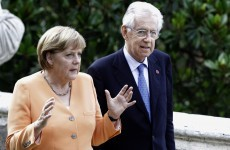 Italian PM Monti sees light at the end of tunnel for Italy, EU