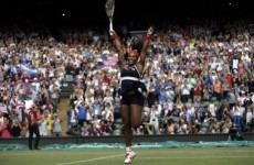 Serena Williams wins women's tennis final in style