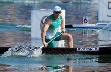 """Andrzej Jezierski takes """"B"""" honours, finishes 9th"""